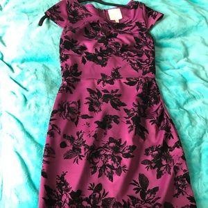 ModCloth pinup purple dress medium